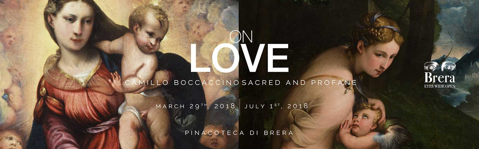 "Sixth dialogue ""On Love. Camillo Boccaccino, Sacred and Profane"""
