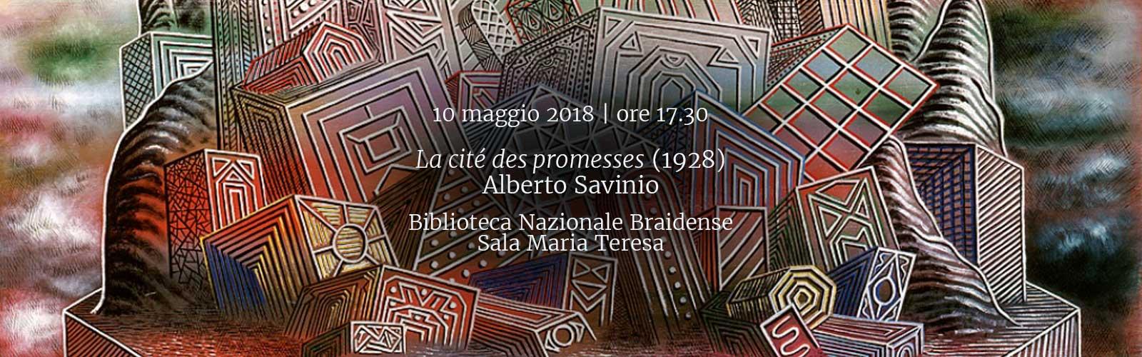 <em>La cité des promesses</em> (1928)<br>Alberto Savinio
