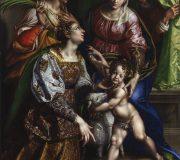 La Madonna con il Bambino e i santi Giuseppe, Caterina e Agnese