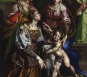 Madonna and Child with St. Joseph, St. Catherine and St. Agnes