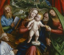 Madonna and Child with St. Martha, St. James, St. Joseph and a donor