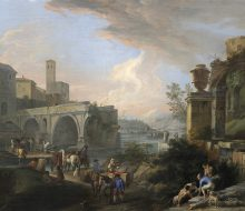 Capriccio with the Ponte Rotto