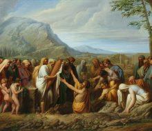 Sepoltura delle ceneri di Temistocle nella terra attica