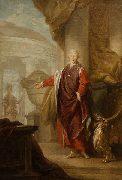 Ritratto di Wenzel Anton, principe di Kaunitz-Rietberg