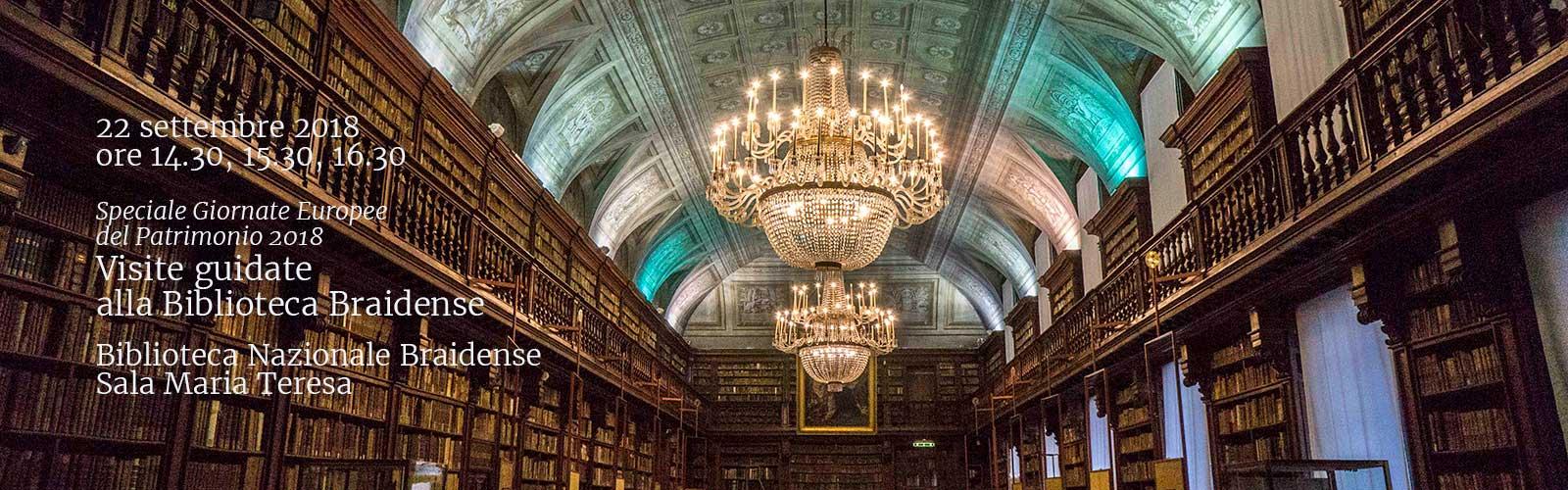 Visite guidate alla Biblioteca Braidense