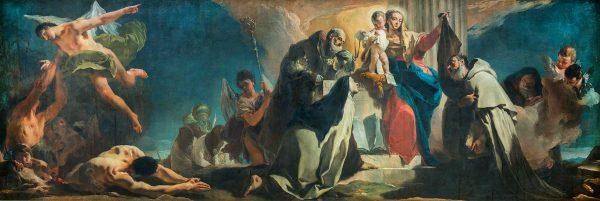 Madonna del Carmelo fra i Santi