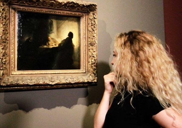 <em>La cena dei pellegrini di Emmaus</em> di Rembrandt Harmenszoon van Rijn