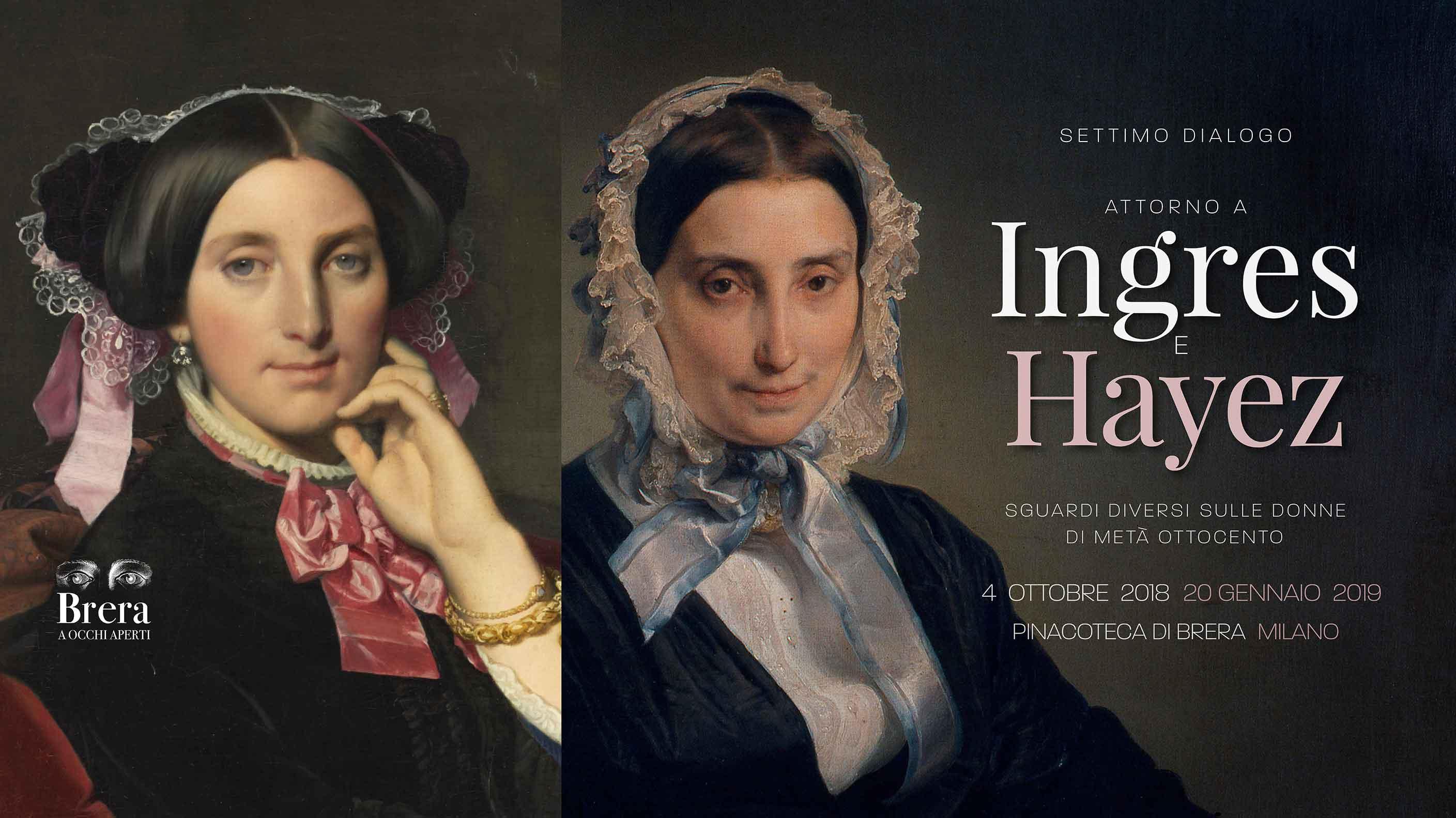 """Settimo dialogo """"Attorno Ingres e Hayez. Sguardi diversi sulle donne di metà Ottocento"""""""