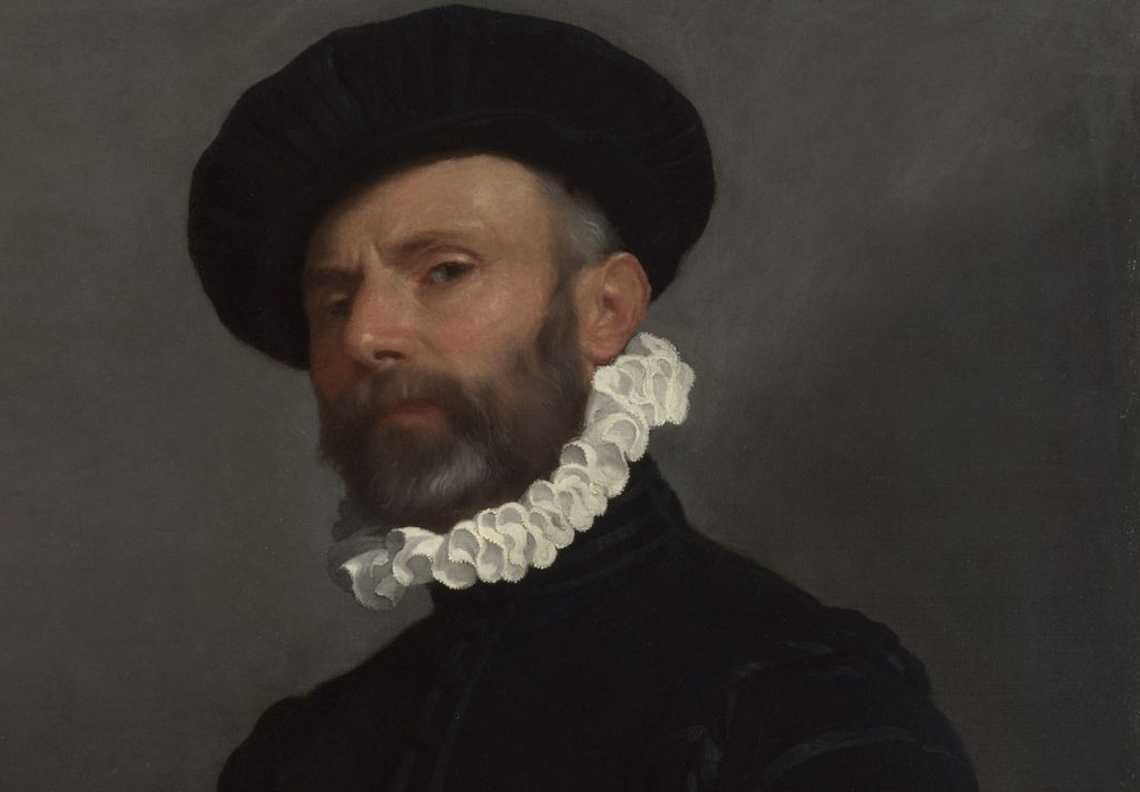 Un capolavoro di Moroni dalla National Gallery: <em>Ritratto di uomo con lettera (L'avvocato)</em>
