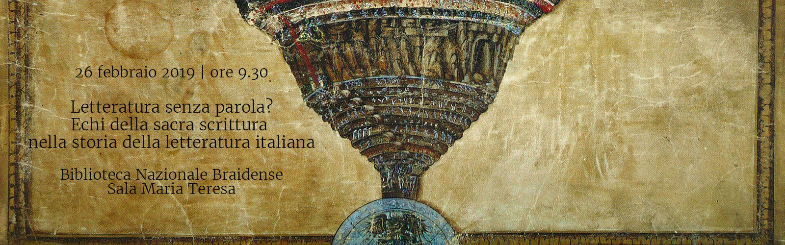 Letteratura senza parola? Echi della sacra scrittura nella storia della letteratura italiana