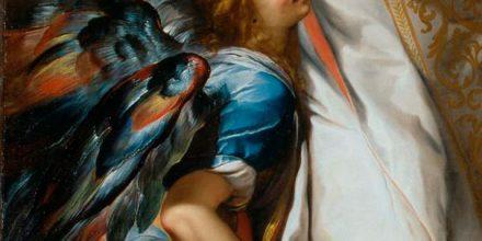 Angeli in volo a Brera