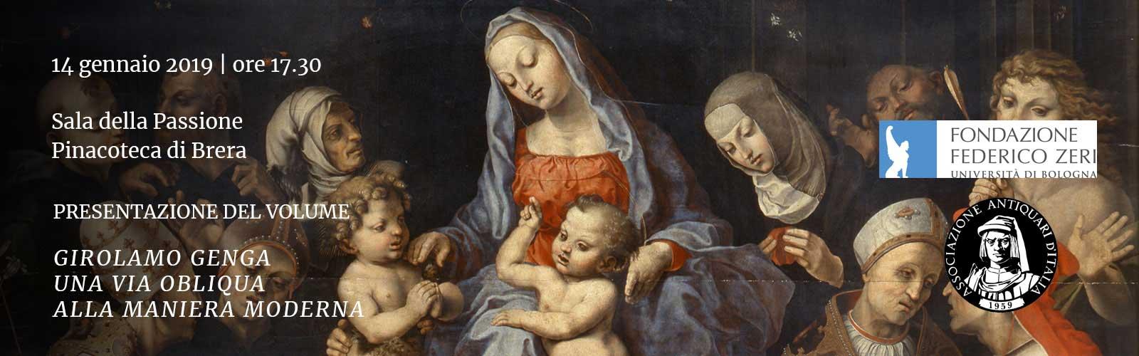 Girolamo Genga<br>Una via obliqua alla maniera moderna