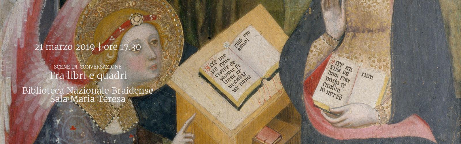 Tra libri e quadri