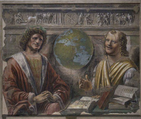 Donato Bramante, <em>Eraclito e Democrito</em>, 1490-1492