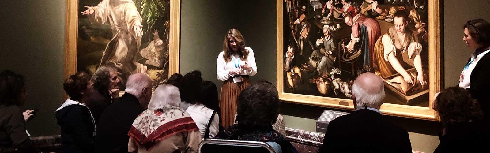Due passi nei musei di Milano.<br>Arte Visiva e Arte Terapia per l'Alzheimer