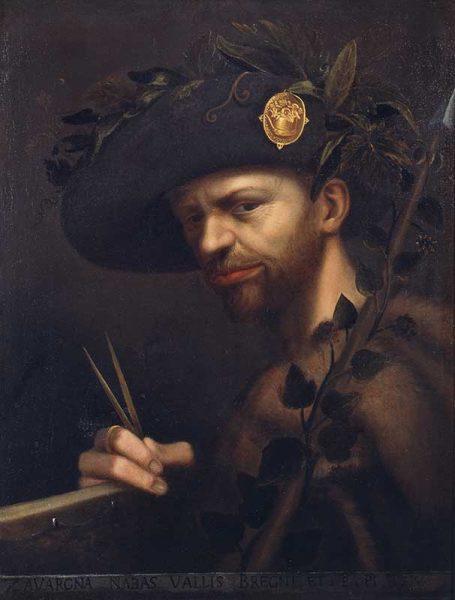 Giovanni Paolo Lomazzo, <em>Autoritratto come Abate dell'Accademia della Val di Blenio</em>, post 1568<br>Pier Francesco Cairo, <em>Ritratto di Giovan Luigi Pellegrino Scaramuccia</em>, 1657-1660