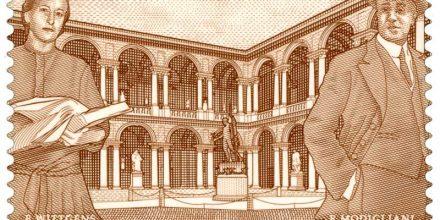Il francobollo dedicato alla Pinacoteca di Brera