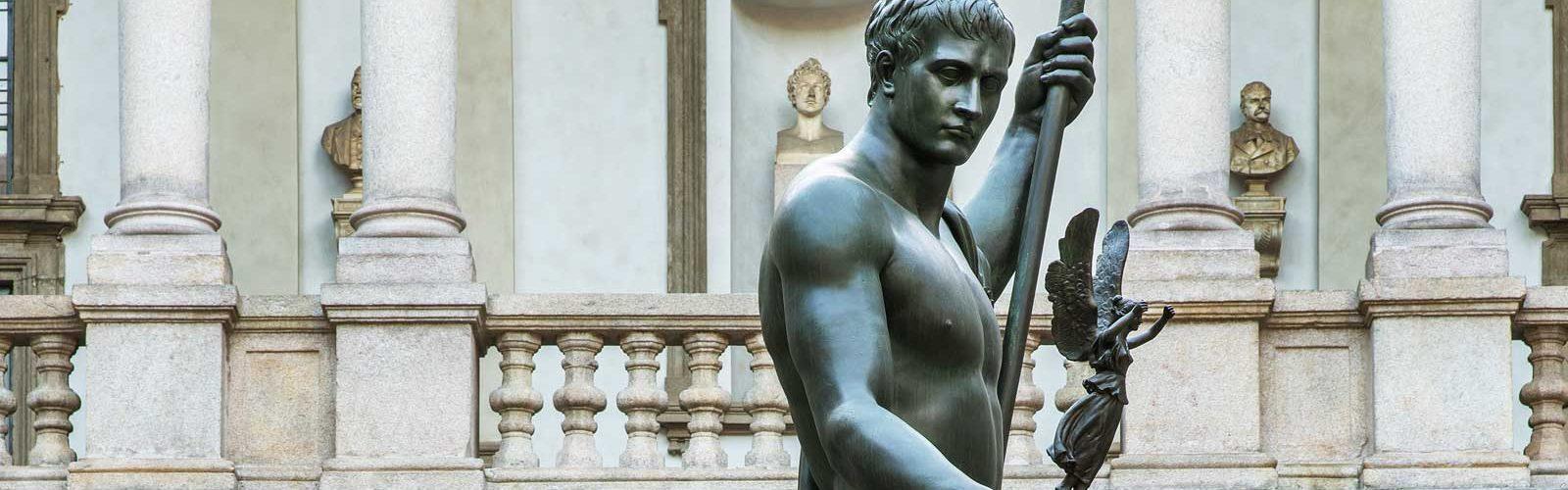 Quando Napoleone<br>immaginò il <em>Louvre</em> d'Italia