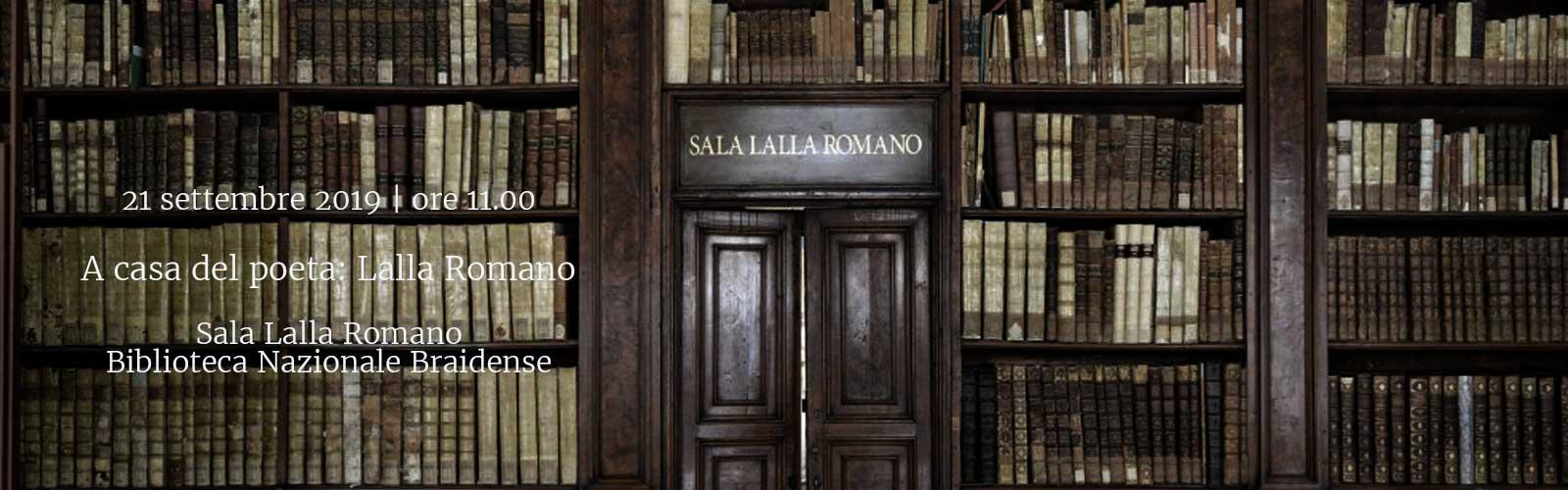 A casa del poeta: Lalla Romano
