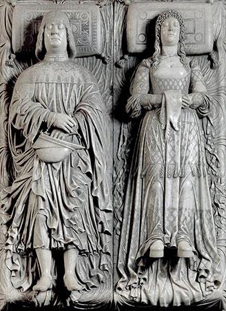Monumento funebre di Ludovico il Moro e Beatrice d'Este, Solari Cristoforo detto il Gobbo, 1497 - 1499 (Certosa di Pavia)