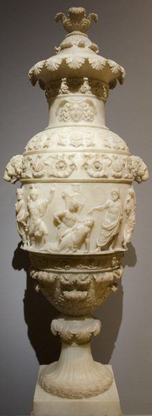 Vase with a Classical Scene