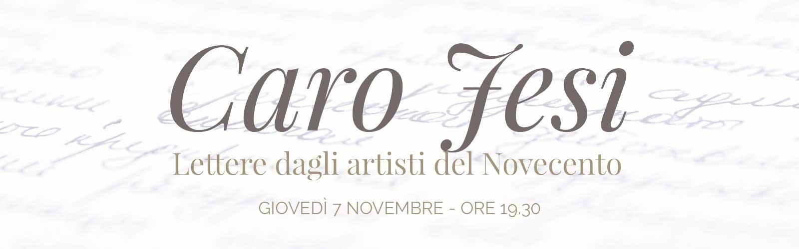 Caro Jesi. Lettere dagli artisti del Novecento<br>Giorgio Morandi – Afro