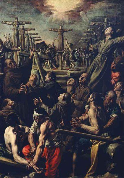 Il martirio dei Beati francescani a Nagasaki
