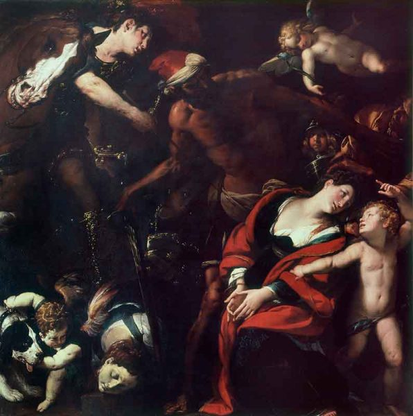 Il Martirio delle Sante Rufina e Seconda (Quadro delle tre mani)