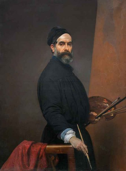 Autoritratto Francesco Hayez