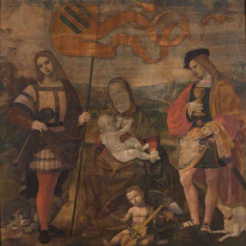 Il restauro della <em>Madonna con il Bambino</em> di Timoteo Viti