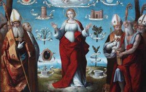 Il restauro de <em>La Trinità e l'Immacolata Concezione</em>