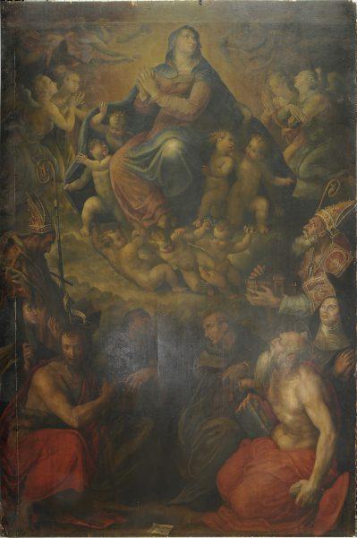 Assunzione della Vergine e Santi