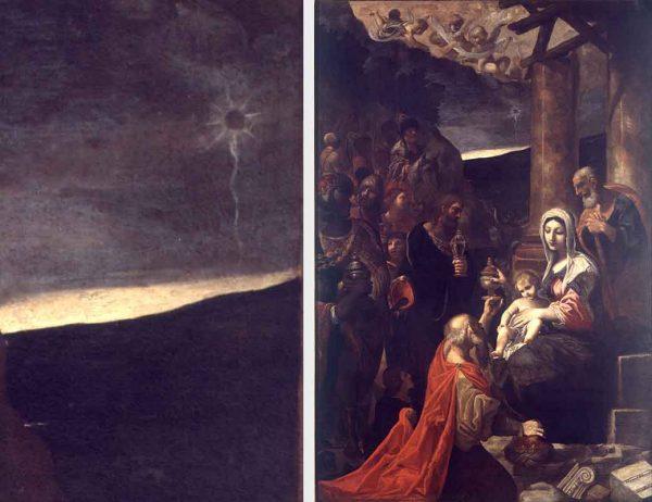 Adorazione dei Magi, Ludovico Carracci,