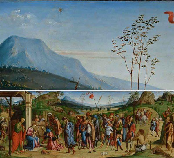 Adorazione dei Magi Lorenzo Costa il Vecchio