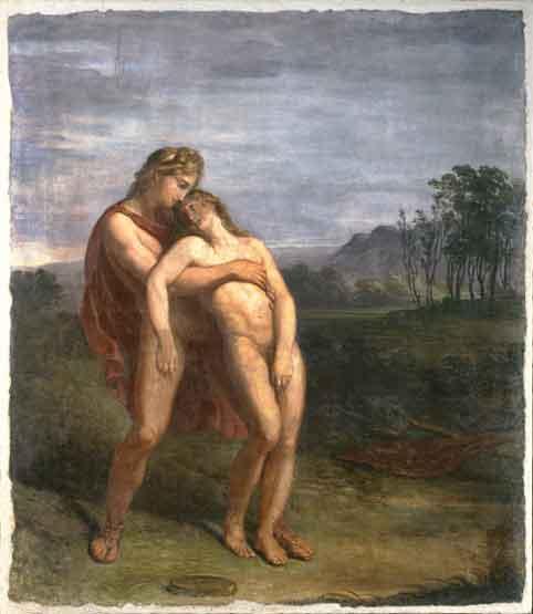 Pinacoteca-di-Brera-Andrea-Appiani-Apollo-e-Giancinto