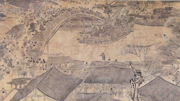 BreraPlus+ presenta il nono dialogo<br>della Pinacoteca di Brera:<br><em>Raffaello e Zhang Zeduan.<br>Nuove prospettive sulla prospettiva</em>
