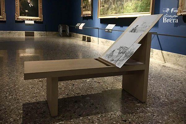 Brera drawing bench