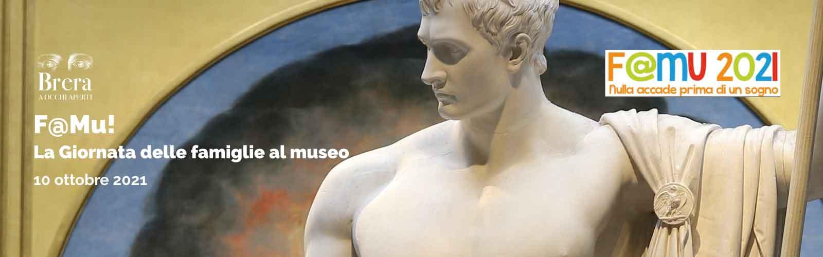 F@Mu, giornata delle Famiglie al museo<br><em>Nulla accade prima di un sogno</em>